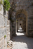 Alleyway, Acropolis, Ancient Pergamum, Bergama, Turkey