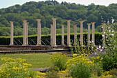 Echternach, ruins of roman villa, Luxembourg, Europe