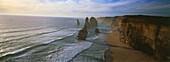 Panorama of the Twelve Apostles, Port Cambell National Park, Great Ocean Road, Victoria, Australia
