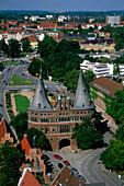 Holstentor, Luebeck, Schleswig-Holstein, Germany, Europe