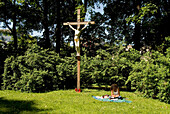 Friedhof Haidhausen, Muenchen, München, Bayern, Deutschland, Reise