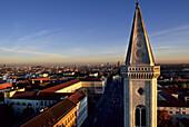 Ludwigskirche and Ludwig Maximilians University, Schwabing, Munich, Bavaria, Germany