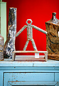 Oddities, sculptures in Dada Antiques, Washington DC, United States, USA