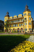 Hotel Schloss Velden, (served as the location for the TV series Ein Schloss am Wörthersee), Velden, Wörthersee (biggest lake of Carinthia), Carinthia, Austria