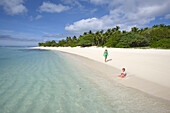 Nuku island is uninhabited. It wa the original location for the UK reality TV show Shipwrecked