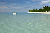 Nuku island is uninhabited. It was the original location for the UK reality TV show Shipwrecked, Tonga, Oceania