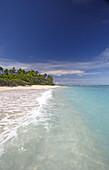 The small uninhabited island of Malinoa is situated one boat hour north of Tongatapu, Tonga, South Seas