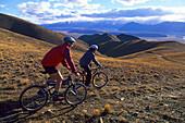 Downhil cycling tour in Twizel, New Zealand
