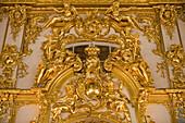 Ornamental Glory in Catherine Palace, Tsarskoye Selo, Pushkin, near St. Petersburg, Russia