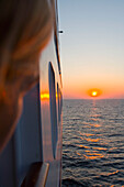 Sunset View, Aboard MS Europa, Baltic Sea