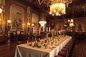 Banqueting Room in Royal Pavilion, Brighton, East Sussex, England, Great Britain