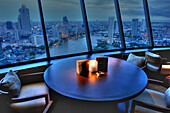 View from the Millenium Hilton, Bangkok, Krung Thep, Thailand, Asia