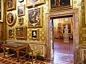 Sala de Prometeo, Galeria Paltina, Palazzo Pitti, Florence, Tuscany, Italy