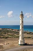 Luftaufnahme vom California Lighthouse, Aruba, ABC-Inseln, Niederländische Antillen, Karibik