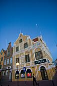 Das Penha Geschäftshaus in Punda, Willemstad, Curacao, ABC-Inseln, Niederländische Antillen, Karibik