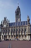 Middelburg Stadthuis Cityhall, Zeeland, Netherlands, Europe