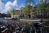 Zwanenburgwal, Amsterdam, Netherlands, Europe