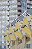 Rotterdam, cube houses, Netherlands, Europe