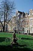 Begijnhof, Amsterdam, Netherlands, Europe
