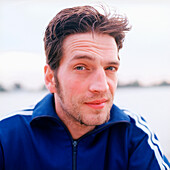 Mid adult man looking at camera, portrait