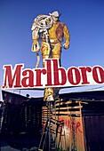 Costa Rica, Marlboro Man, cigarette billboard