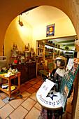 France, Nice, old city center, Absinth shop