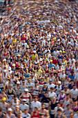 Germany, Hamburgm Marathon, crowd