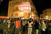 Spain, Baleares island, Ibiza bars nightlife