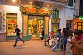 Cafe Forn Teatre, Palma, Mallorca, Baleares, Spain