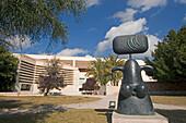 Mallorca, Miro museum, sculpture