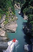 Queenstown, New Zealand, Shotover river Jet boat