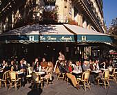 Paris St German Cafe Deux Margots people outdoor