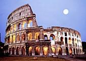 Italy, Rome Colloseum at dawn
