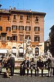 Fountain, Piazza Navona, Rome, Italy