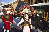Switzerland, Appenzell, traditional new years eve rite