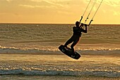 Blouberg beach, Kite surfer, Capetown, South Africa