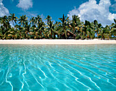 South pacific, Cook Islands, Aitutaki lagoo, , One foot Island, dream beach