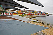 Kayaks in front of Nuuk, Greenland