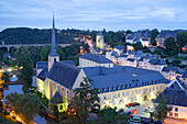 Saint-Jean Baptiste in the district of Grund, Luxembourg