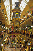 Mall in Queen Victoria Building. Its one of the world's finest shopping adresses. Sydney, New South Wales, Australia