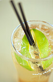 Lemonade with limes in Manly Wharf Bar, Drink, Australia