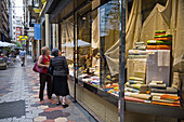old shop front, old town, pedestrian, Valencia, Spain