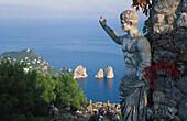Monte Solaro, Faraglioni, Capri, Italy