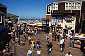 Pier 39, Fisherman's Wharf, San Francisco, California