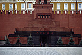 Lenin's Mausoleum, Lenin's Tomb situated in Red Square, Moscow, Russia