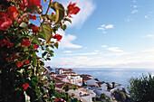 View over Canico Baixo, Madeira, Portufal