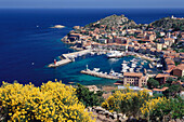 Harbour, Giglio Porto, Isola del Giglio, Tuscany, Italy
