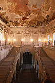 Ceiling Fresco from Tiepolo, Grand Staircase, Wurzburg Residence, Franconia, Germany