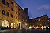 Piazza dei Priori, Town Square, Volterra, Tuscany, Italy
