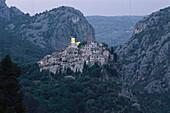 Mountain village, Peillon, near Nizza, Alpes-Maritimes, Cote d´Azur, Provence, France
